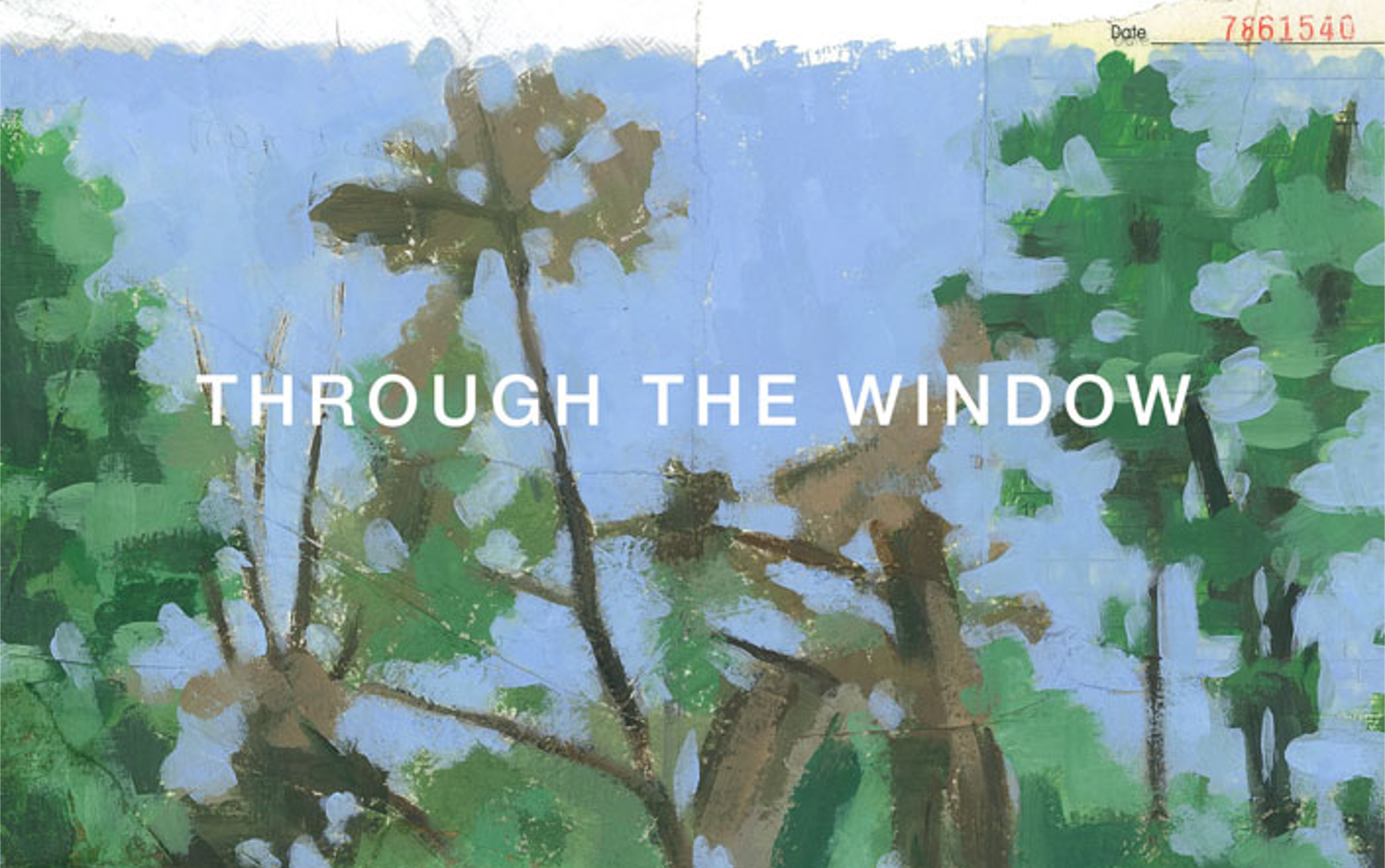 個展「THROUGH THE WINDOW」by Koji Yamaguchi
