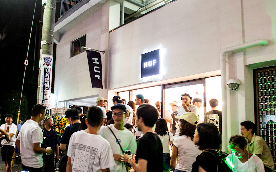 HUF TOKYO 1st Anniversary Party